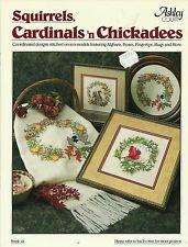 Ashley Court, Squirrels, Cardinals 'n Chickadees, Cross Stitch Coord Designs