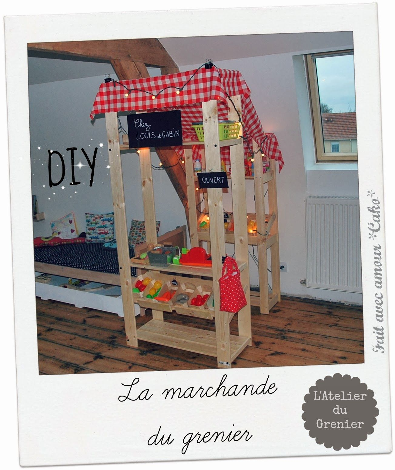 diy la marchande du grenier avec albert ikea jouet et jeux pinterest marchand loft et ikea. Black Bedroom Furniture Sets. Home Design Ideas
