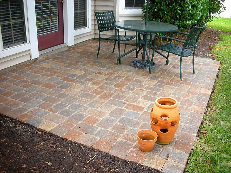 Gorgeous Simple Patio Ideas With Pavers Installing A Paver Patio Diy