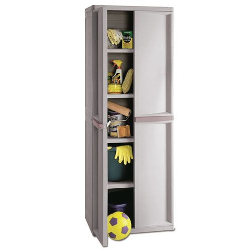 Strange Sterilite 01428501 4 Shelf Utility Plastic Storage Cabinet Download Free Architecture Designs Crovemadebymaigaardcom