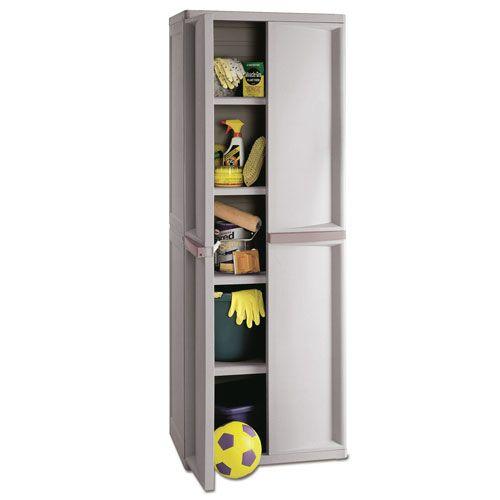 Sterilite 2563W x 1888D x 6938H 4 Shelf Cabinet