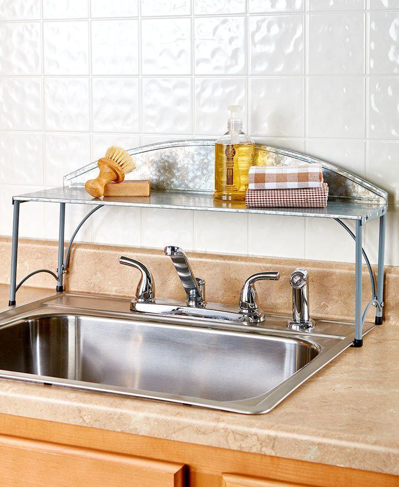 Kitchen Organizer Over The Sink Shelf Rack Unbranded