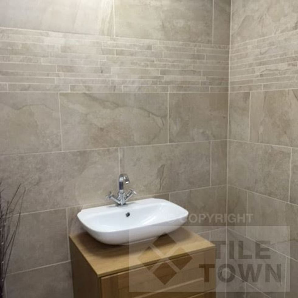 Edale sand wall floor tile this series is a truly innovative edale sand bathroom wall tiles supplied by tile town discounted slate effect wall floor tiles dailygadgetfo Image collections
