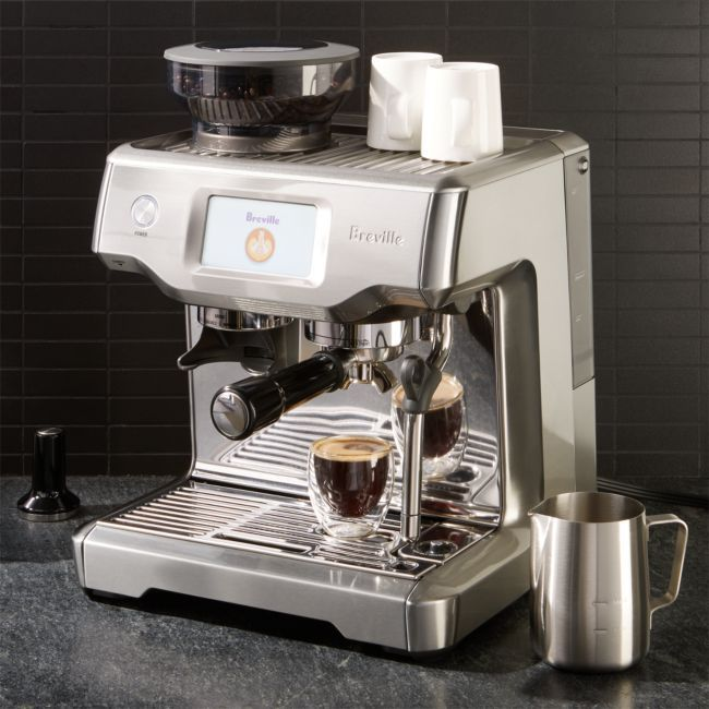Breville The Barista Touch Reviews Crate And Barrel In 2020 Breville Barista Coffee Kit