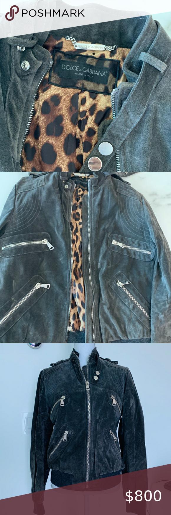 Host Pick Dolce Gabbana Motto Jacket Stunning Grey Suede D G Jacket Size 44 Italian Us 8 Used Vintage Denim Jeans Black Floral Jacket Dolce And Gabbana [ 1740 x 580 Pixel ]