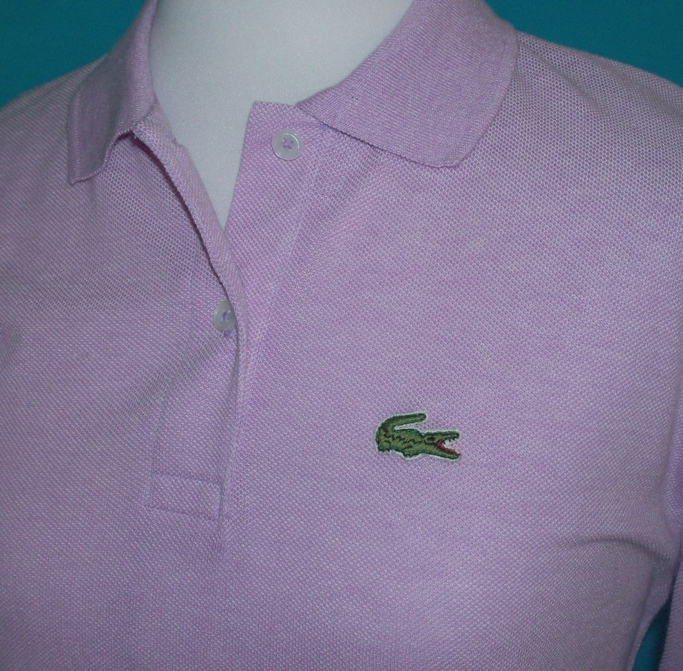 Izod lacoste alligator shirt awsome 80s pinterest childhood izod lacoste lilac alligator logo polo shirt top vintage l sciox Images