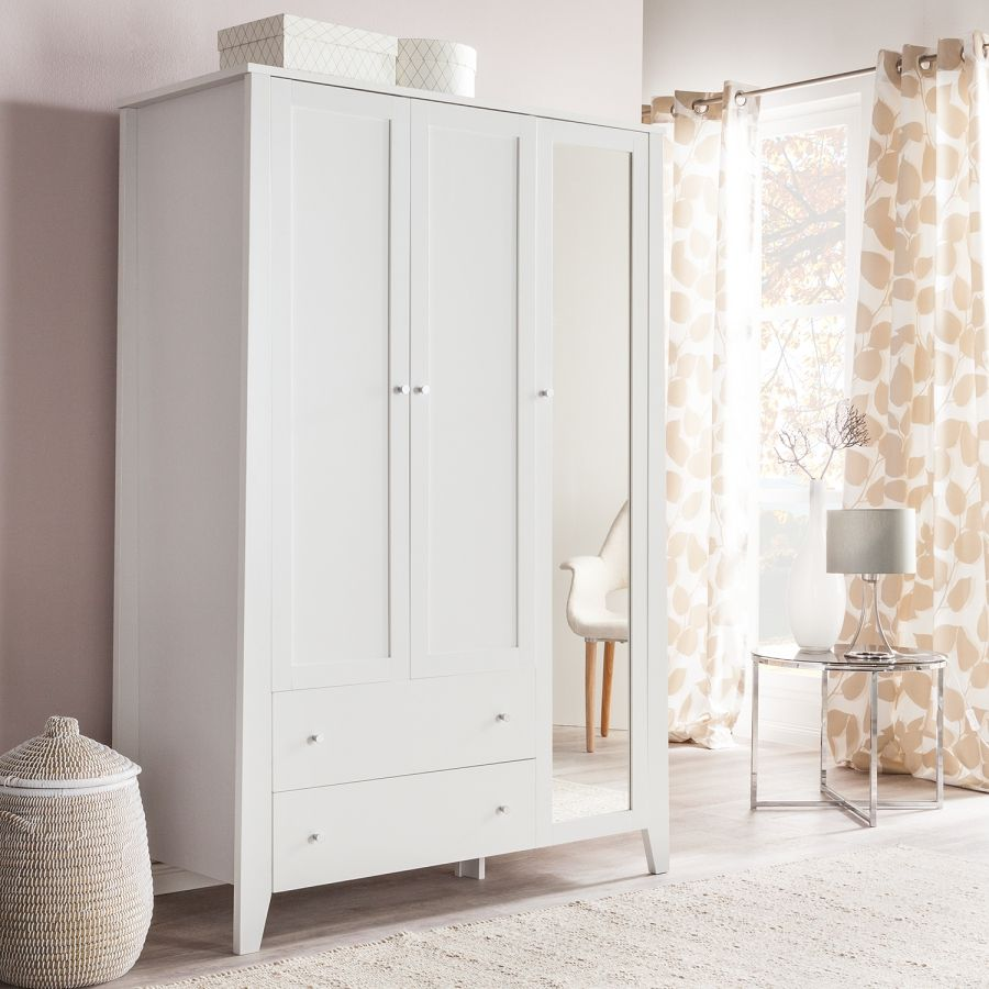 kleiderschrank mallund ii mit spiegel home pinterest kleiderschrank schrank und spiegel. Black Bedroom Furniture Sets. Home Design Ideas