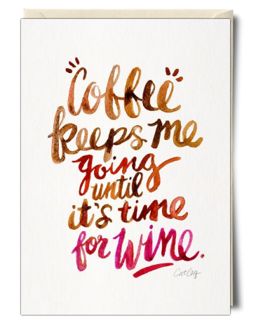 An Awesome Birthday Card From Cat Coquillette Foodies Wine And