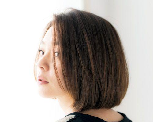 今 この髪型を マネしたい 人気ヘアアイコン達を大解剖 Part1 浅見れいなさん 美的 Com 髪型 ヘアスタイル 面長 前髪なし ボブ