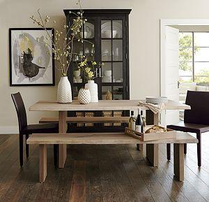 dakota 77 dining table dining room crockery cabinet dining rh pinterest com