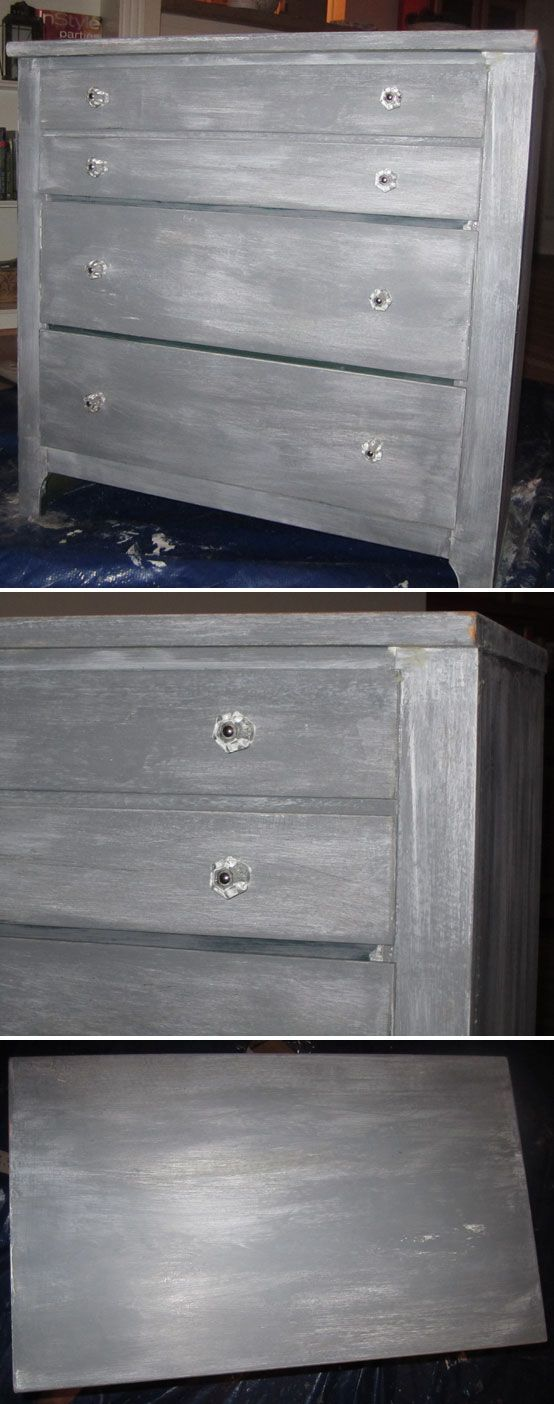 DISTRESSING :: DIY Gray Paint Tutorial (Use