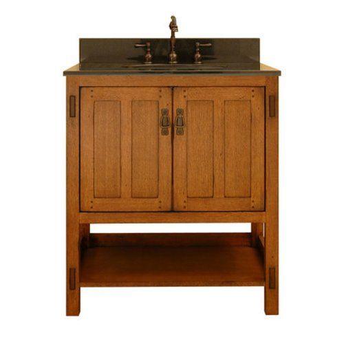 Sagehill Designs Ac3021 American Craftsman 30 Inch Vanity Base