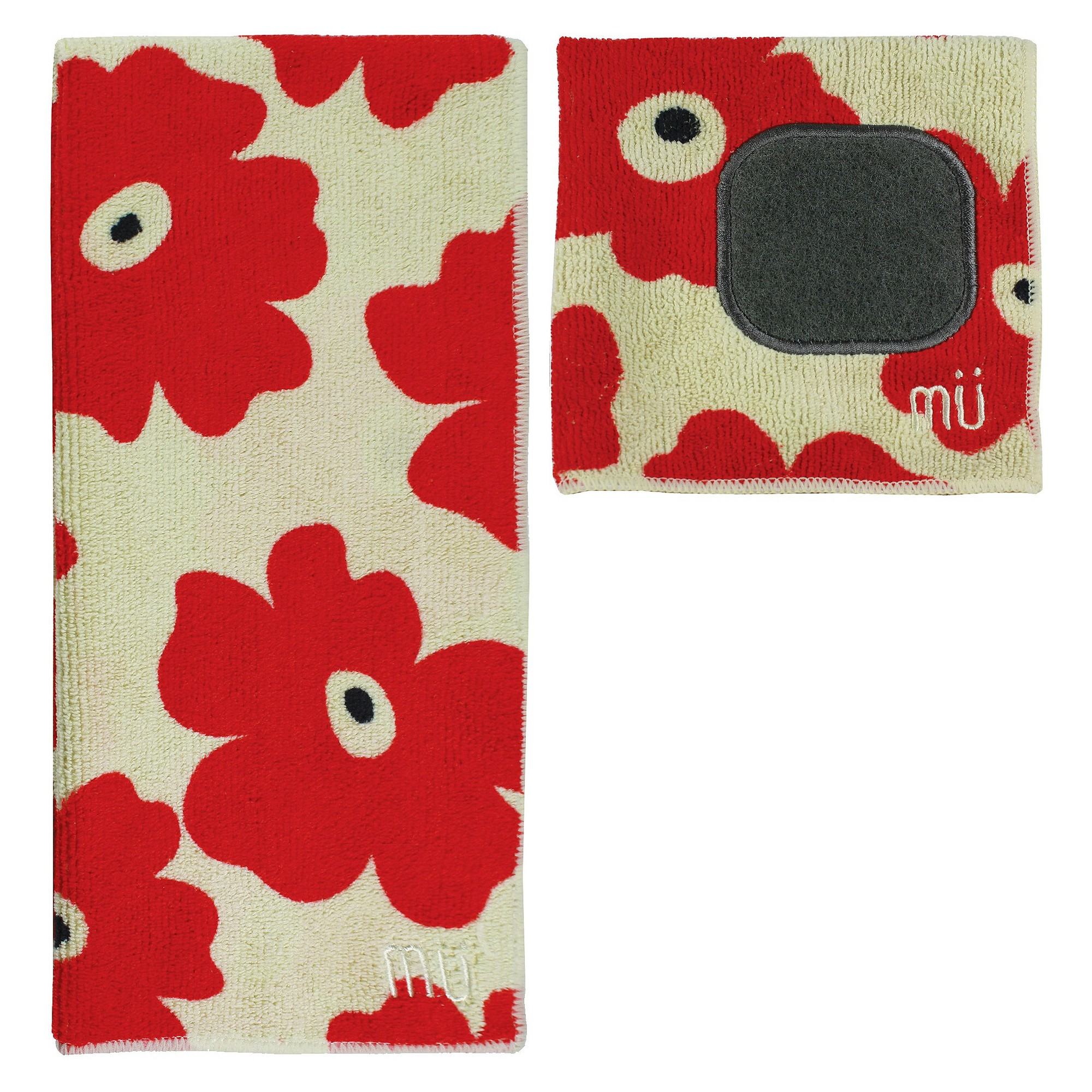 ultra absorbent solid microfiber kitchen towel with scrubber cloth rh uk pinterest com
