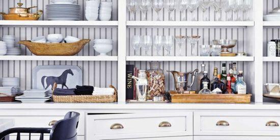 Die kleine Küche einrichten Tipps für die perfekte Organisation - kleine regale für küche