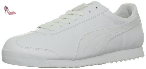 Puma Mode Pour Homme BasicBaskets Teamregalred White Roma 5Aq34RjL