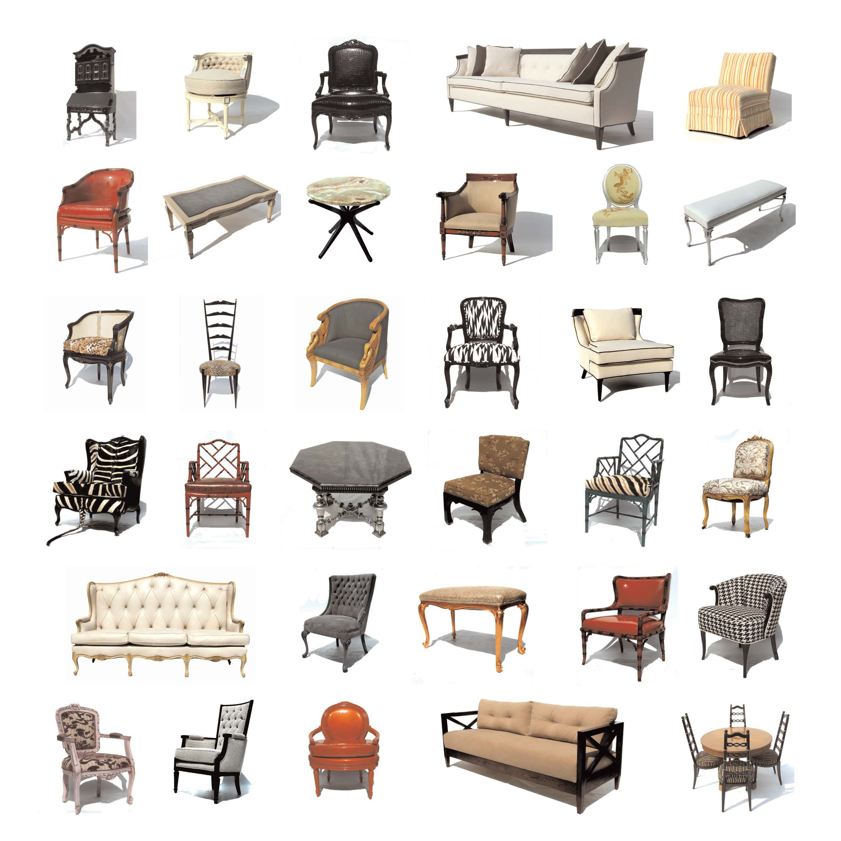 Styles Of Chairs Furniture Styles From The 1930 39s 1950 39s House In 2019