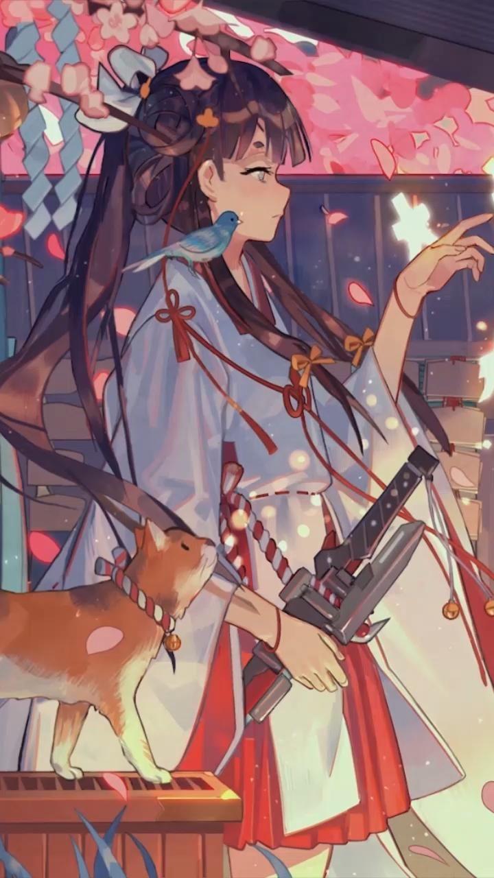 GIRL KAWAI AND CAT Kimo NO Cherry - CLICK HERE