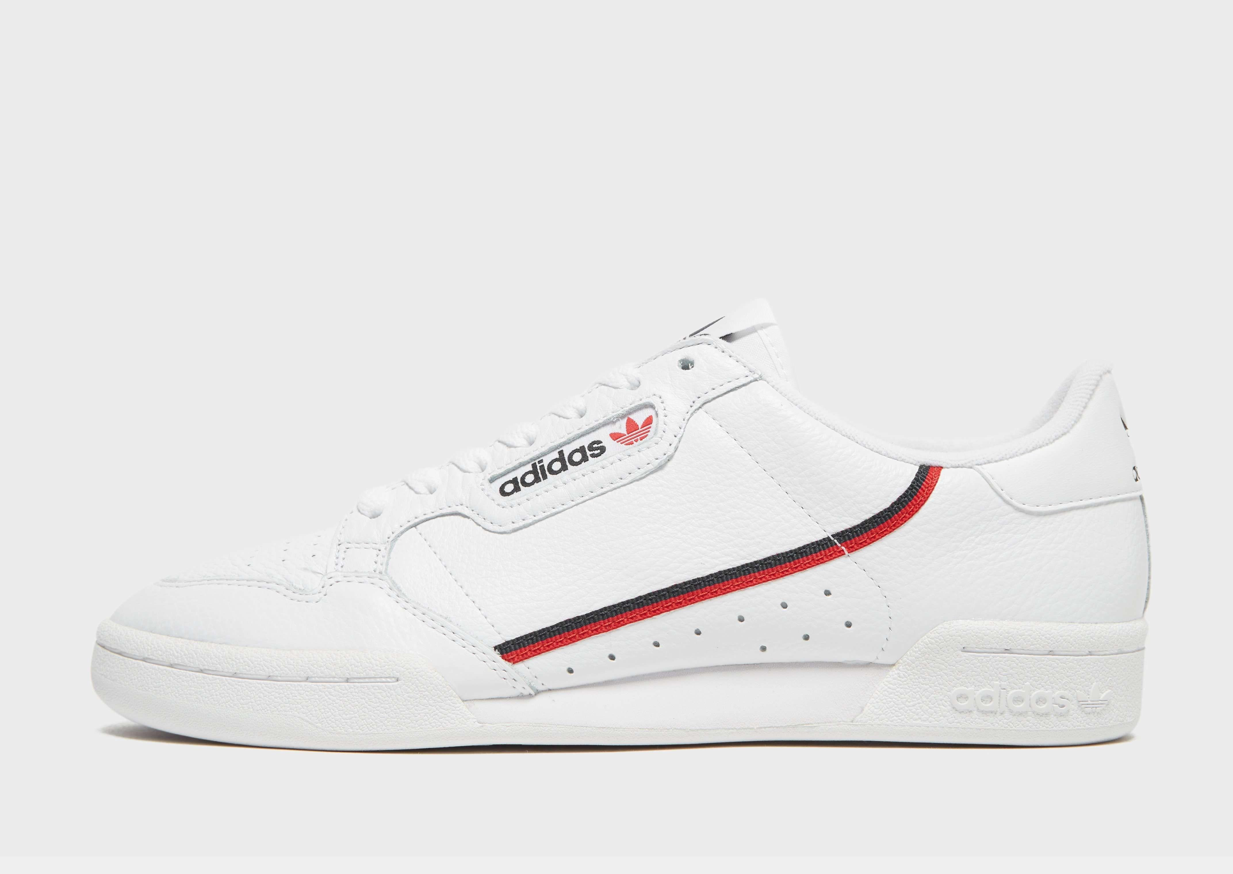 Buy White adidas Originals Continental 80 in 2020 White