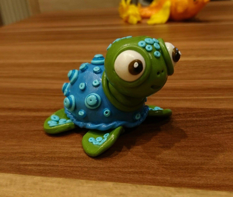 Fimo Schildkröte | Fimo, Schildkröte, Basteln