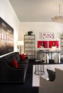 2007 ASO Decorators Showhouse  Gardens - industrial - living room - atlanta - by Christy Dillard Kratzer