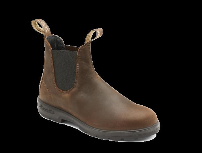 Antique Brown Premium Leather Pull-on