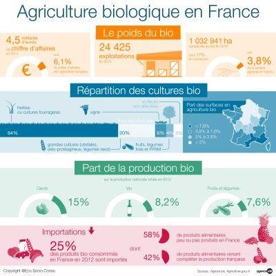 Agriculture Biologique En France Culture Bio Agriculture Francaise Agriculture Bio