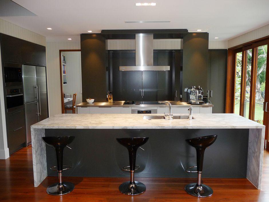 Queenlander Kitchen with a modern twist