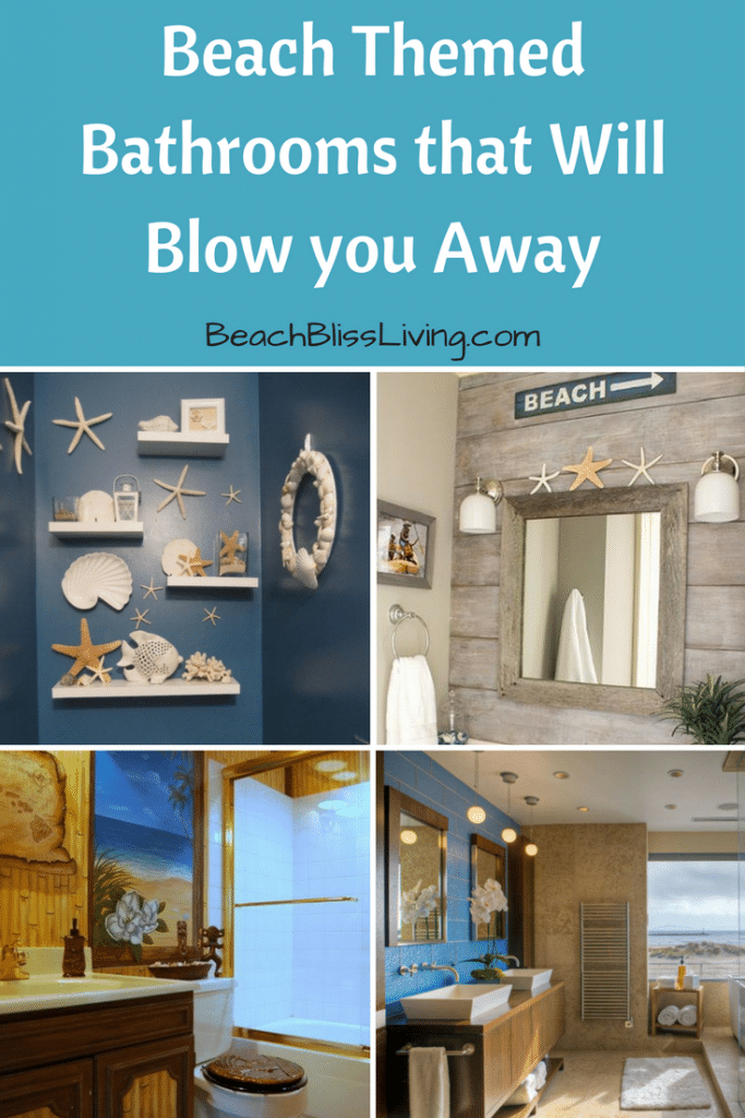 5 beach themed bathrooms that will blow you away beach bathroom rh pinterest com