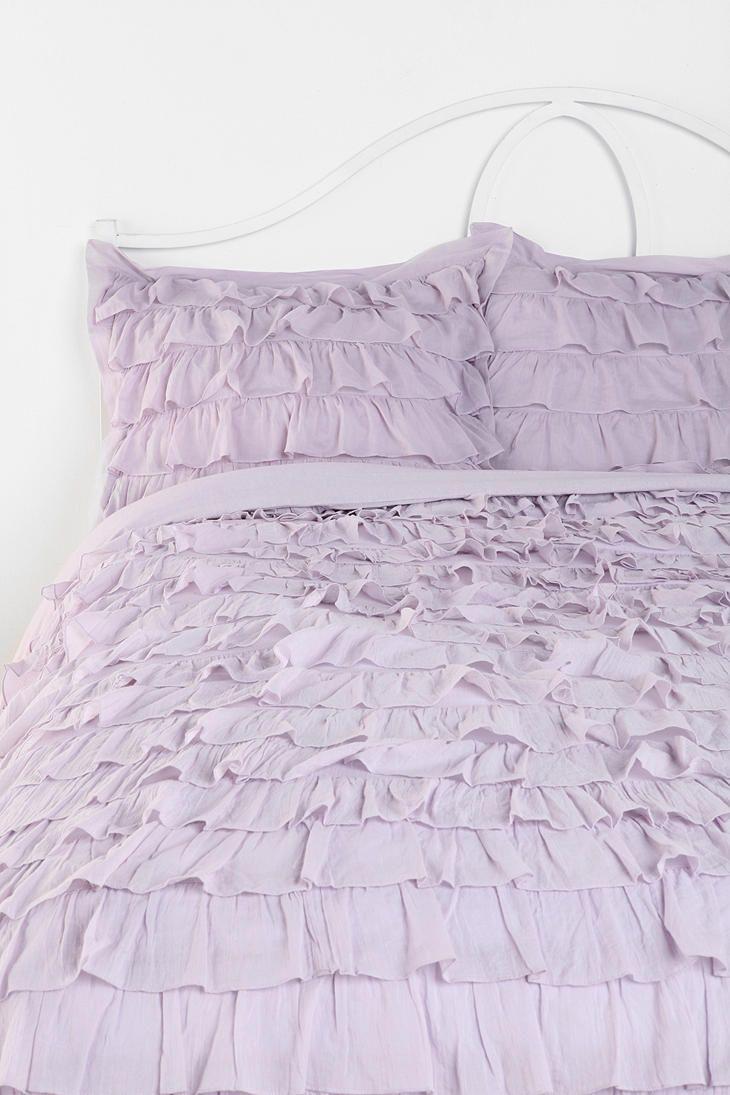 Lightweight Down Alternative Duvet Insert Ruffle Comforter