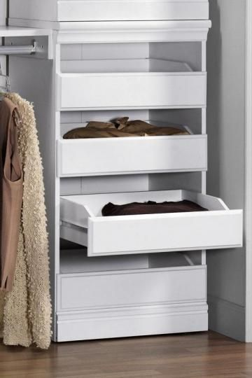 Expand The Function Of Your Custom Closet System By Adding The Home  Decorators Collection Manhattan Cherry Modular Storage Drawers.