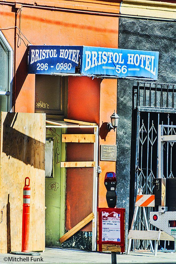 bristol hotel in the tenderloin san francisco by mitchell funk www rh pinterest com
