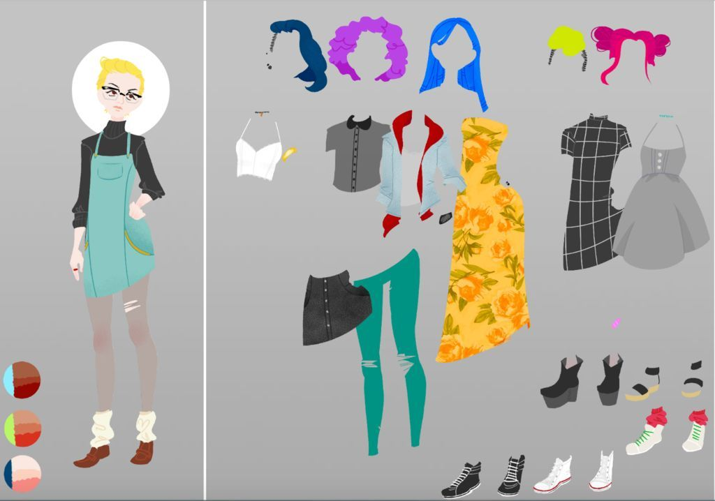16++ How to make a dress up game information
