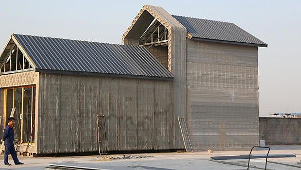These 3-D Printed Houses From China Appear In Just A Few Hours
