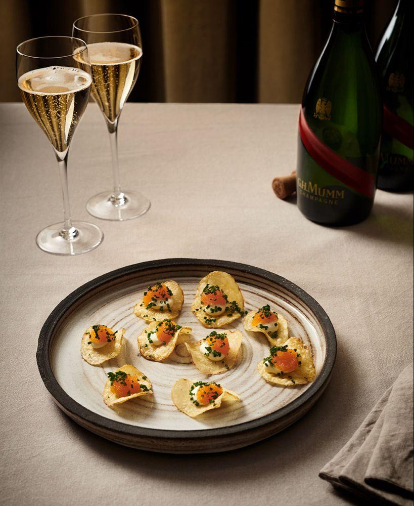 mingelmat till champagne