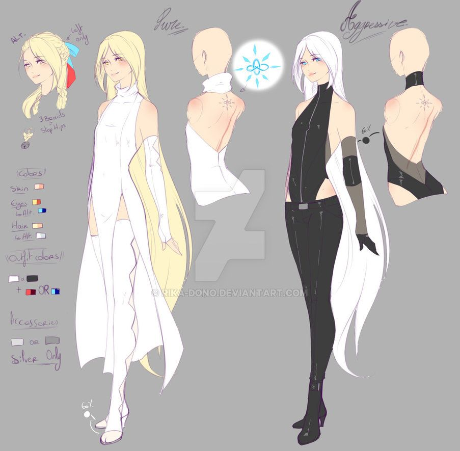 Zero Refs Anime Outfits Drawing Clothes Art Clothes