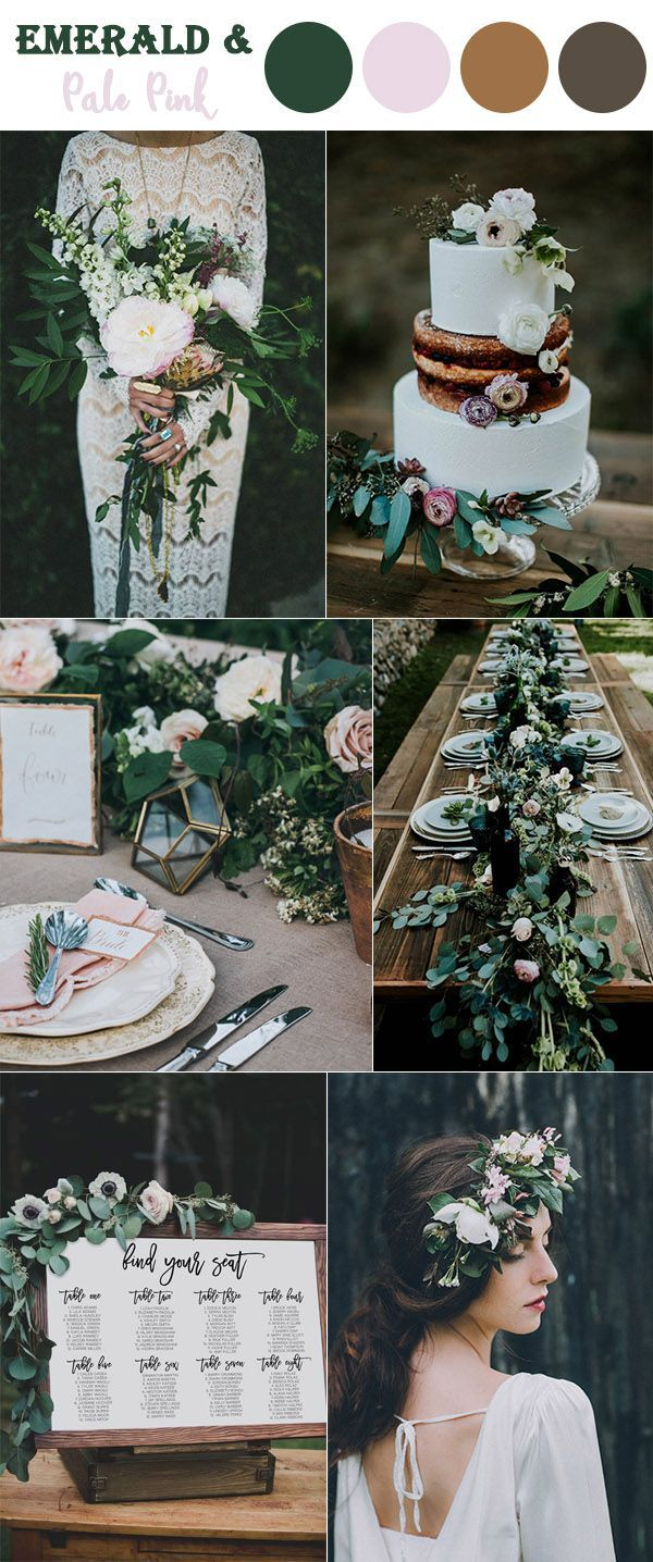 Wedding decorations with flowers november 2018 The  Perfect Fall Wedding Color Combos To Steal In