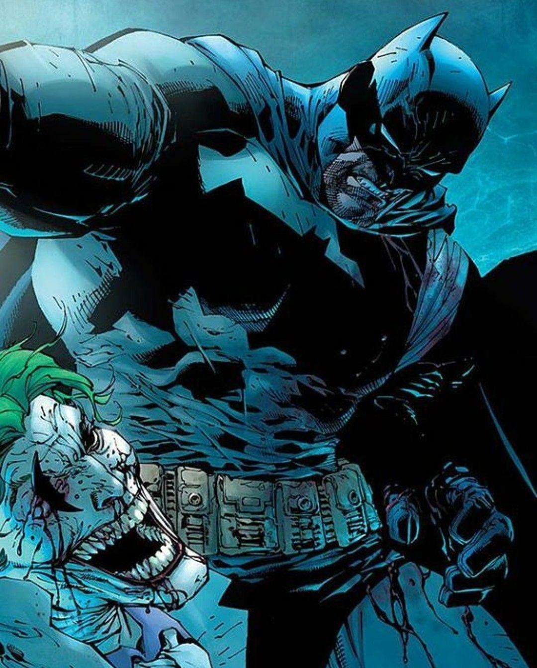 Batman Vs Joker From The Dark Knight Returns | Batman ...