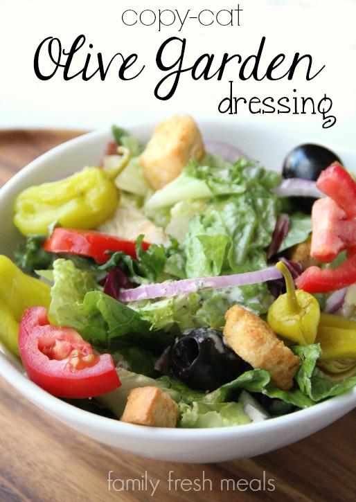 Attractive Copycat Olive Garden Salad Dressing
