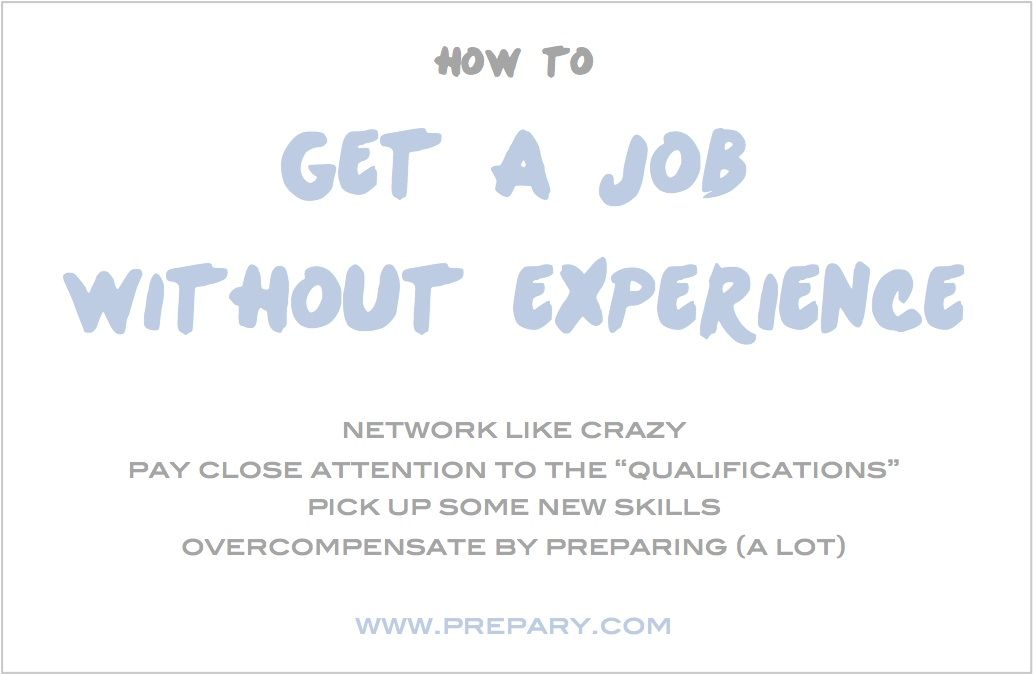 Tips To Get A Job Without Experience Find A Job Job Interview
