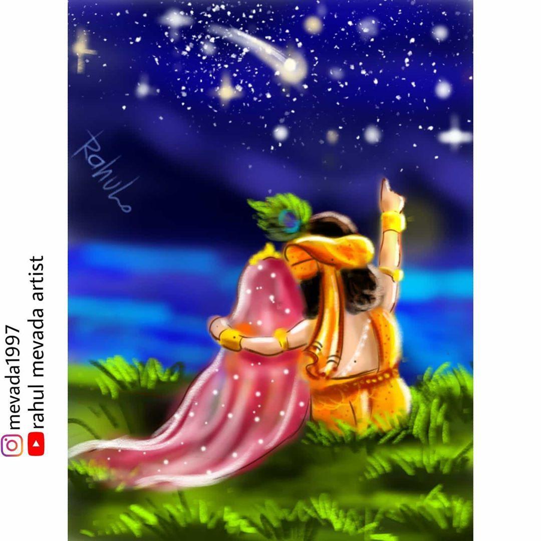Mevada Rahul On Instagram Radhakrishn Radhakrishn Happy New In 2020 Radha Krishna Art Krishna Radha Painting Krishna Wallpaper