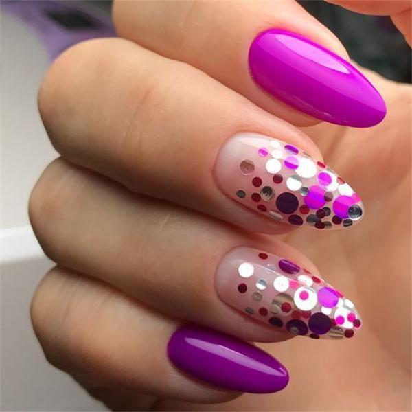 Resultado de imagen para uñas con lentejuelas