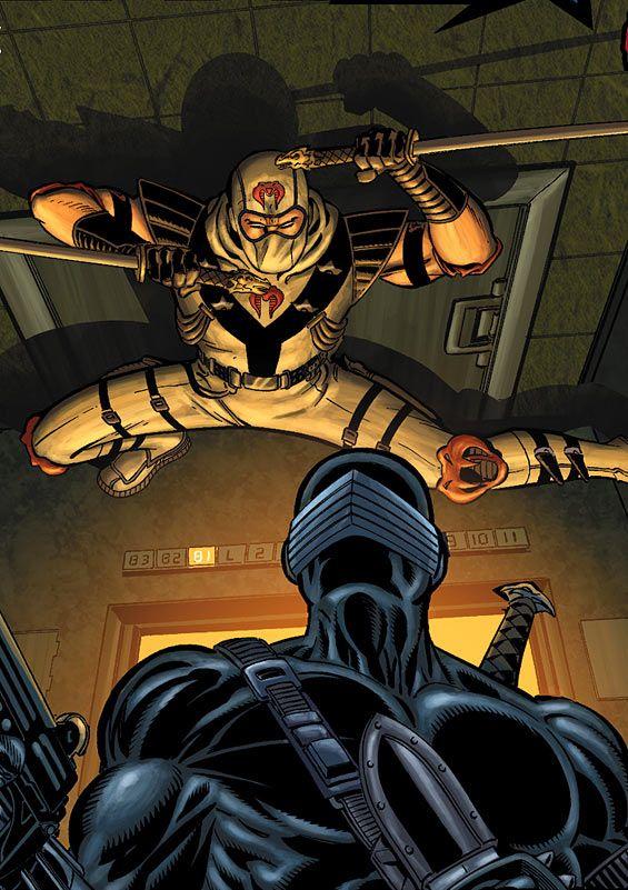 G.I. JOE #9//Mike Zeck/X - Y - Z/ Comic Art Community GALLERY OF COMIC ART