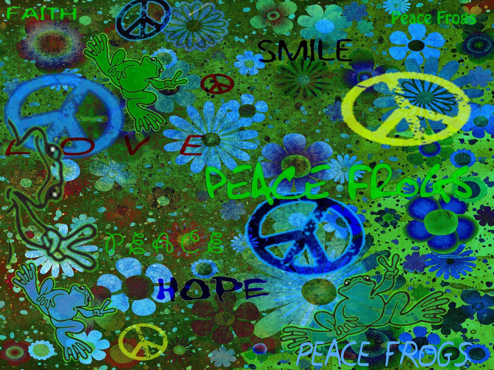 Free Wallpaper Downloads Peace Frog Wallpaper Free Download Peace Art