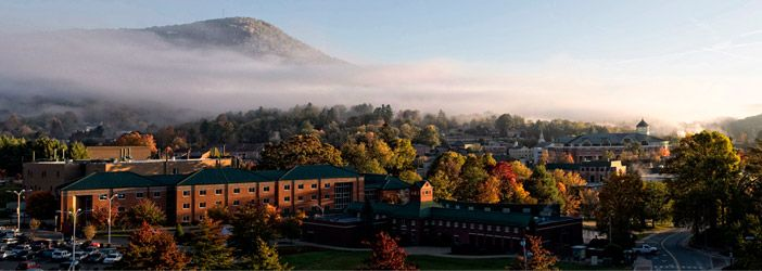 Appalachian State University; best school ever, so glad