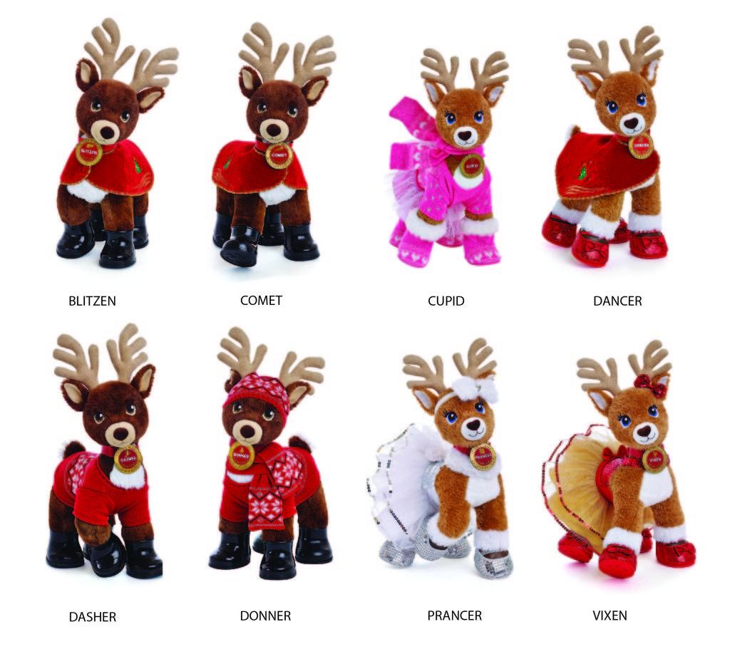 Build A Bear Reindeer Charlene Chronicles Build A Bear Reindeer Build A Bear Bear Stuffed Animal