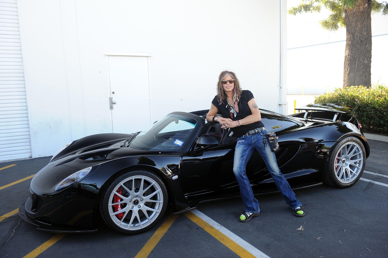 Steven Tyler S 1 1 Million 1 244 Hp Convertible Celebrity Cars Steven Tyler Hennessey Venom Gt