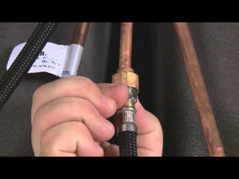How To Replace A Hose In Your Pullout Kitchen Faucet Youtube