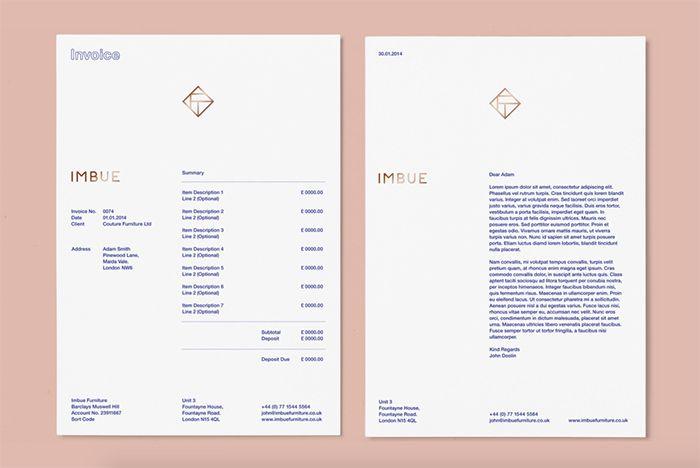 Creative Invoice Designs For Your Inspiration  Invoice Design