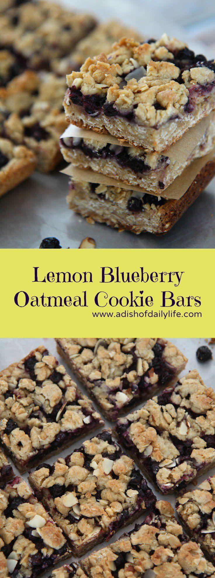 Lemon Blueberry Bars
