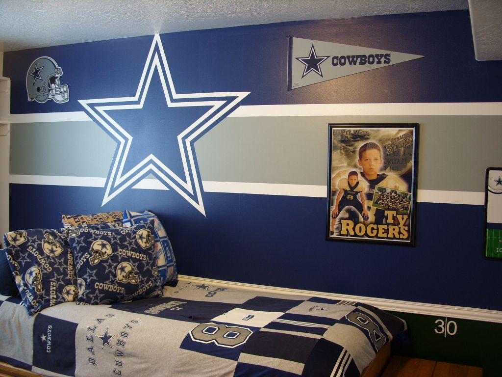 dallas cowboys bedroom decor bedrooms diy organizing decorating 15066